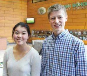 Amy Ma and Peter Kivimaki