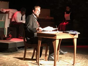 """""""An American Dream: Lincoln, the Railroad and the Transformation of America,"""" staged at the Prairie Players Civic Theatre in Galesburg"""