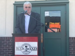 Galesburg Railroad Days 2017 kicked off with opening ceremonies led by Mayor John Pritchard