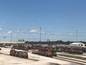 Galesburg brought backits popular rail yard tours for the 40th annual Railroad Days