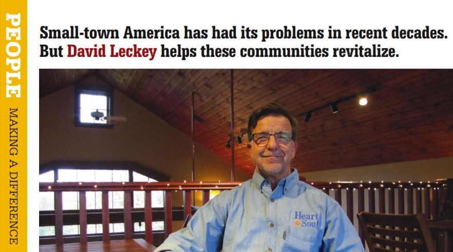 Image for One man's mission to revitalize small-town America