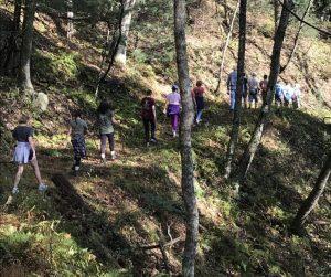 Elkin Explorer hike. Daily Yonder Photo Credit