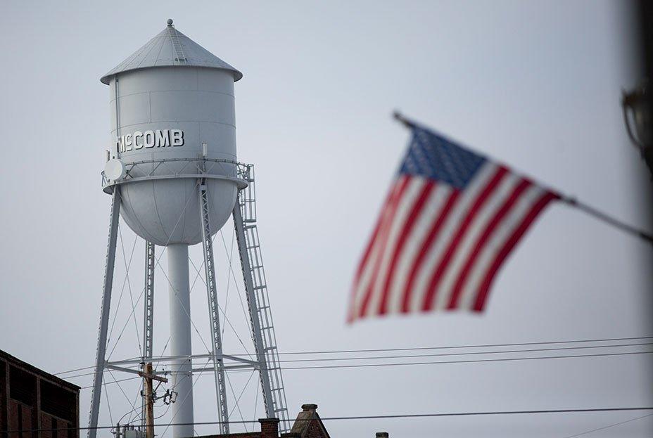 McComb Ohio Town