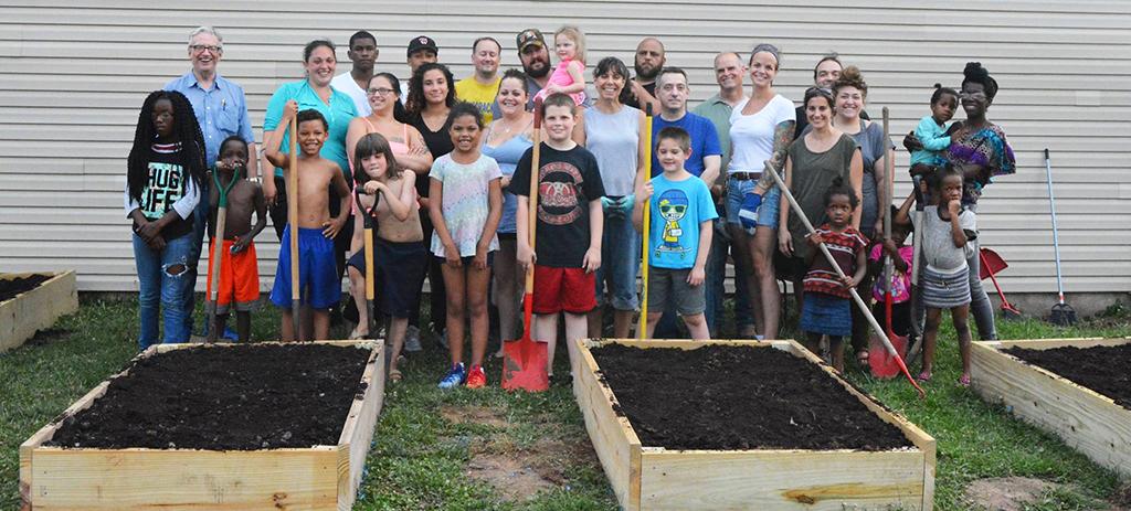 Heart of Williamsport Community Garden Group Shot