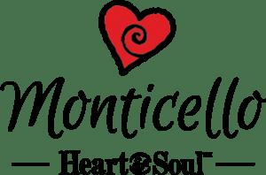Monticello Heart & Soul Logo