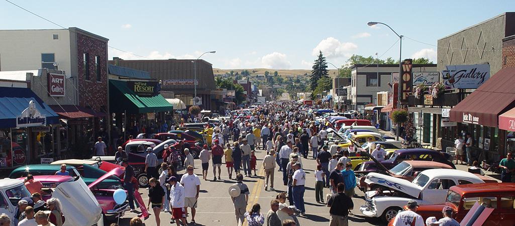 Community Heart & Soul Town Polson Montana Community Car Show