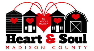 Madison County, Iowa Heart & Soul Team Logo