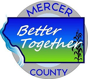 Mercer County Better Together heart & soul logo