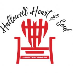 Hallowell Community Heart & Soul Logo