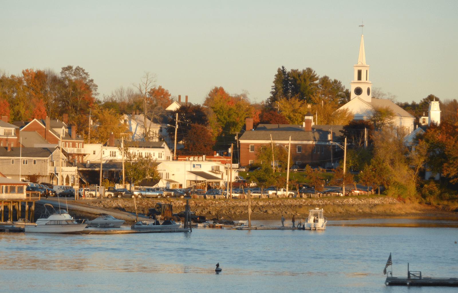 Damariscotta Maine Harbor