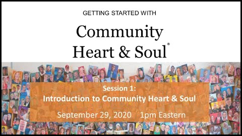 Introduction to Community Heart Soul Video