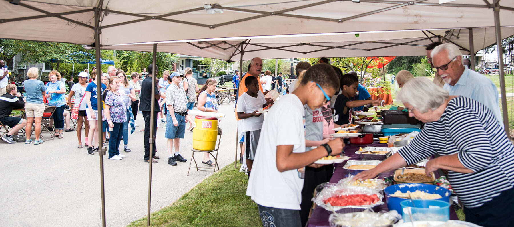 Galesburg On Track, Community Block party