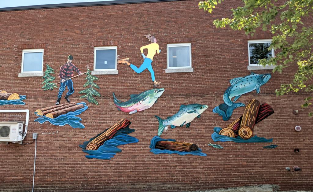Bucksport Maine Mural