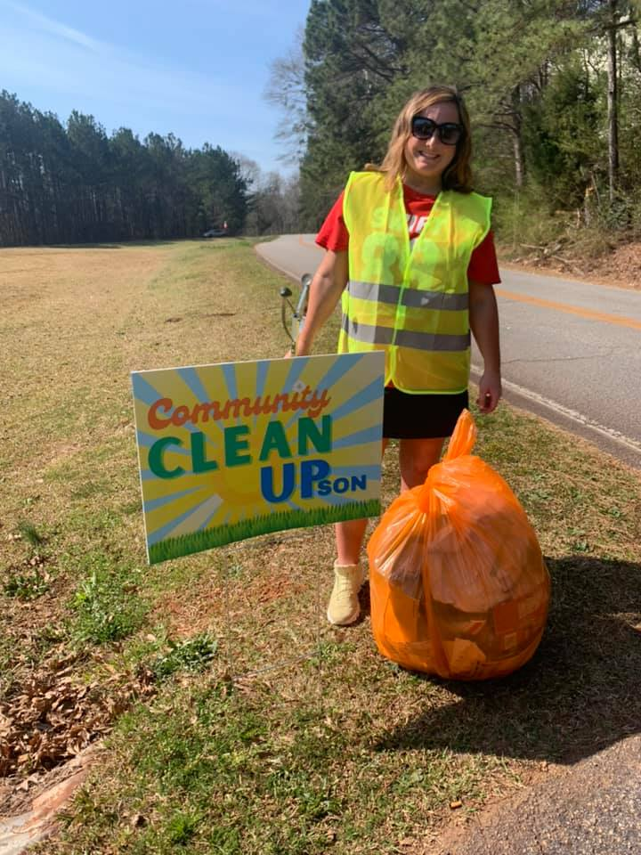 Heart & Soul Upson Clean up day